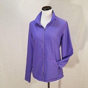 Lovely Lucy Lavendar Running Jacket